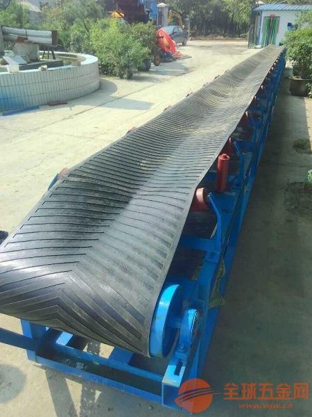 矿用加厚型皮带传送机 大型物料高耐磨输送机厂家