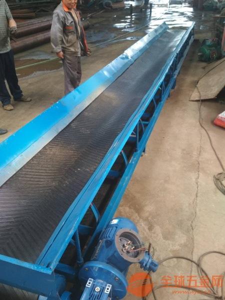 谷物杂粮皮带输送机 倾斜式正反两转皮带机 升降可调