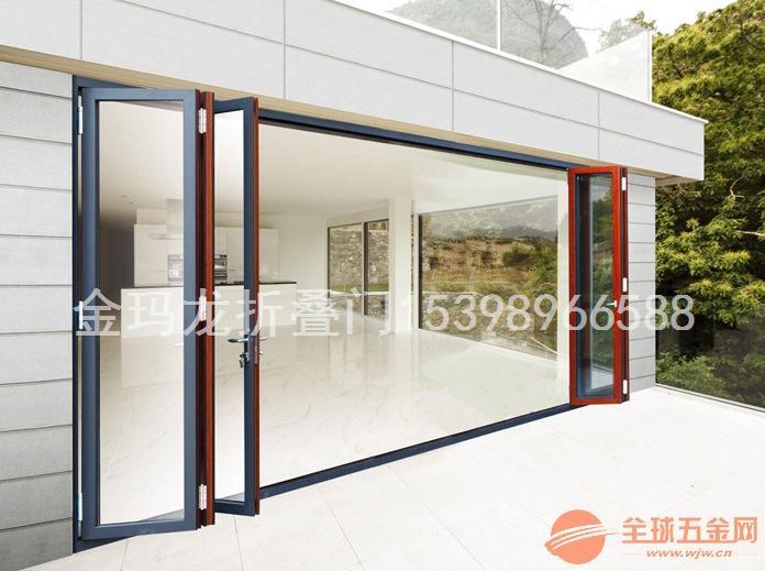 清远折叠门 铝合金重型折叠门