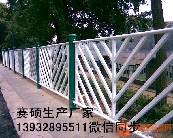 锌钢护栏厂家 道路护栏网 铁艺围栏厂区围墙草坪护栏