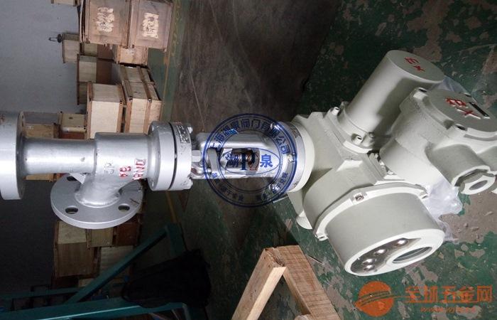 J944X-16C电动角式截止阀产品展示