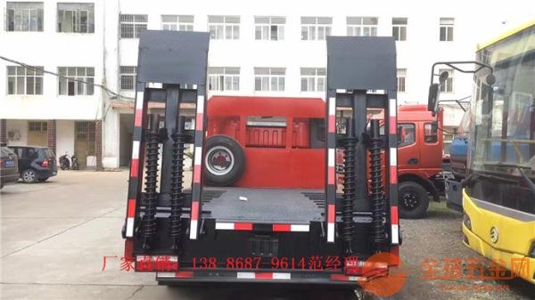 收割机平板运输车