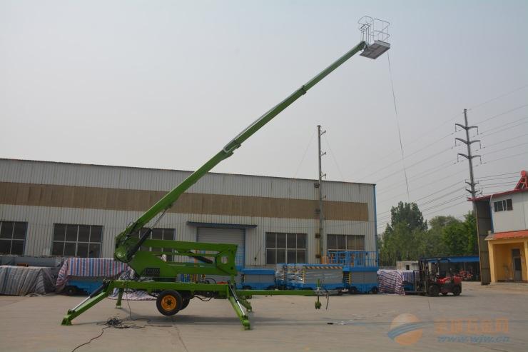 20米拖车折臂式升降机高空作业车直臂式升降平台