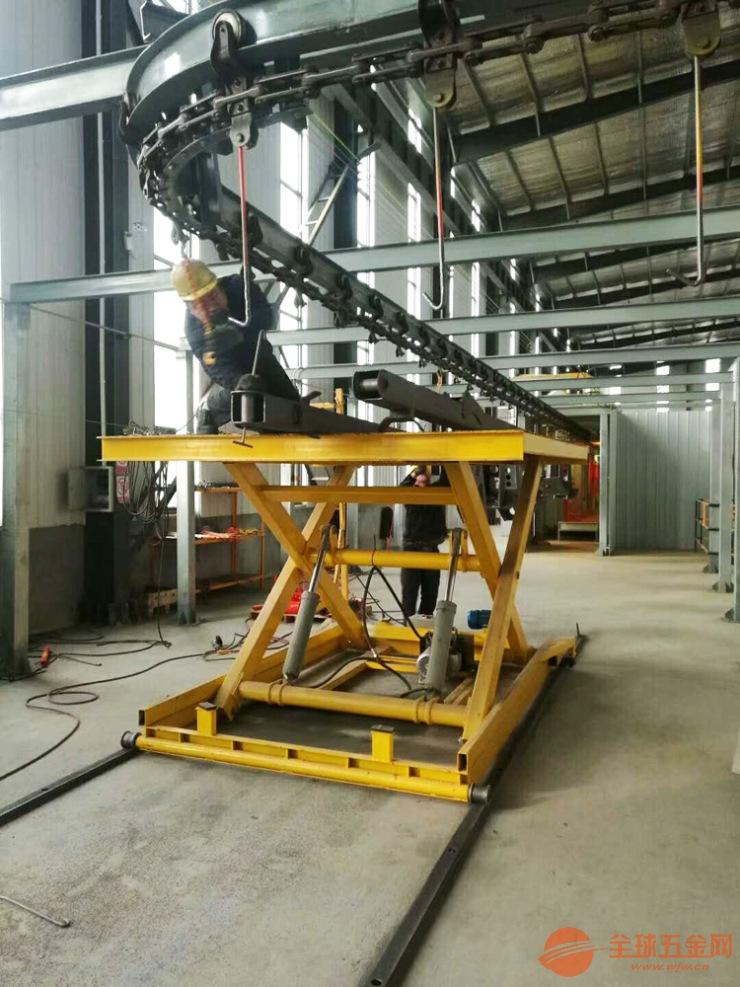 轨道式升降机滚轮式升降平台固定式装卸平台液压货梯