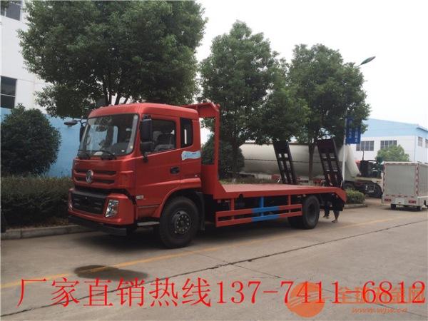 楚风大型收割机平板拖车