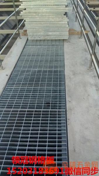 重型钢格栅板西藏林芝平台重型镀锌钢格栅板报价