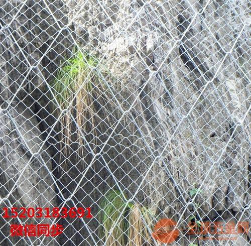 边坡防护网厂家&贵州遵义边坡防护网&被动边坡防护网厂