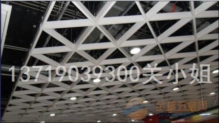贵州铝格栅天花吊顶价格 木纹铝格栅