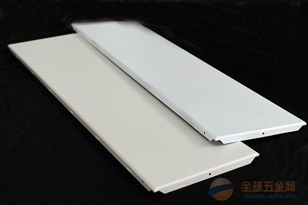 600*1200白色工程铝扣板