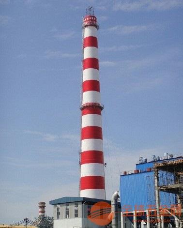 凤城60米砖烟囱粉刷