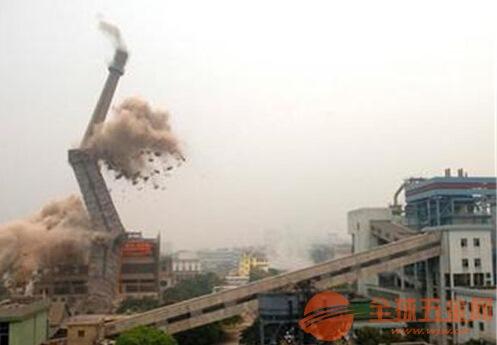 管城回族区水泥烟囱拆除