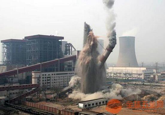 吉首25米砖烟囱拆除