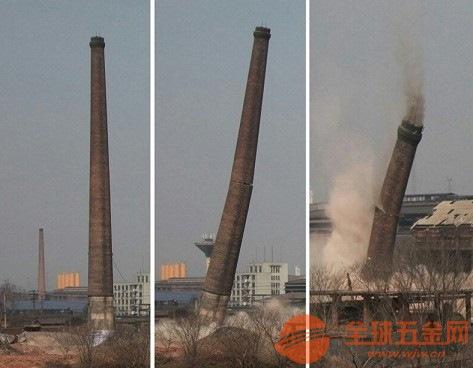 定安县烟囱爆破拆除公司