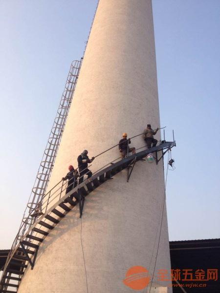 烟囱更换爬梯 服务到位宁海
