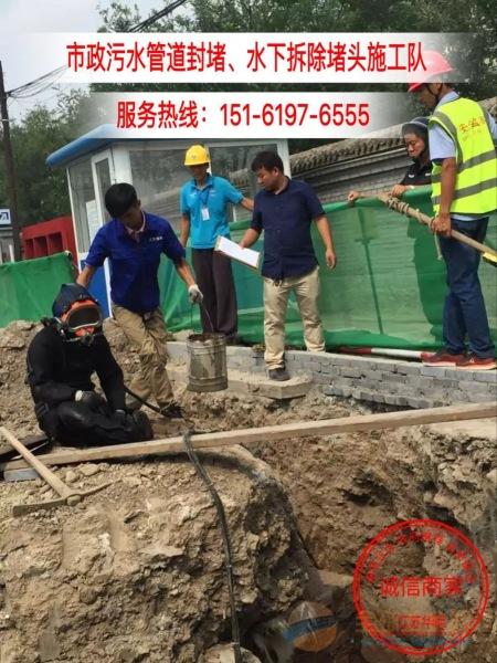 象山蛙人水下封堵「时刻为您准备」管道污水堵漏气囊施工队