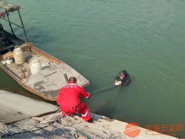 灵武市潜水人员施工队伍水下作业队价格低于同行