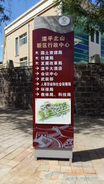 立地式道路指示牌