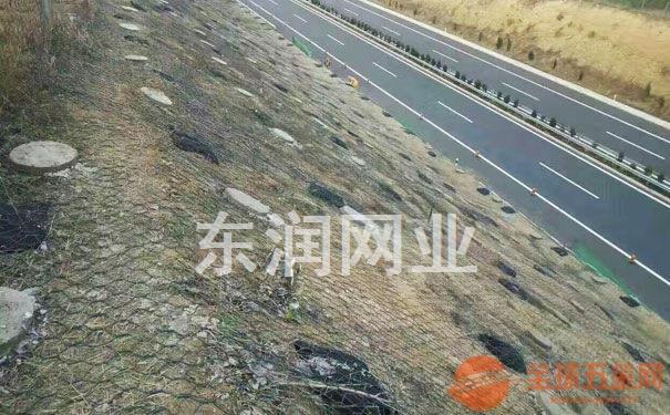 河道边坡装石头铁丝网环保50年