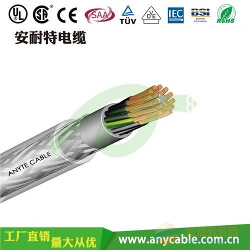PVC多芯控制电缆 PVC屏蔽电线 铜芯装配电线