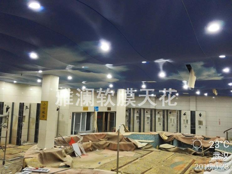 洗浴中心天花吊顶 办公室 商场 公共场所等等透光灯箱