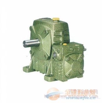 杭州WPES系列蜗轮 蜗杆双级减速机 质量保障