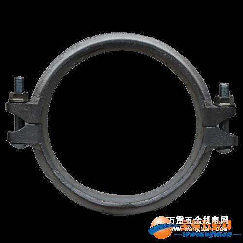 四川成都批发供应 银色给水式钢卡 消防钢卡价格 沟槽管件