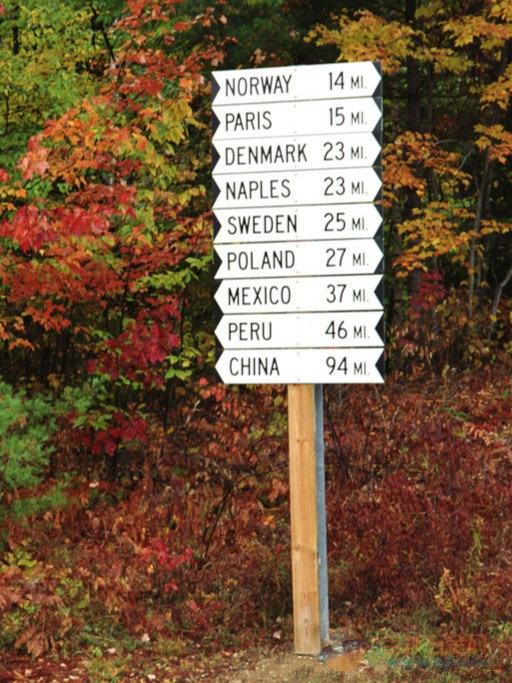 立地式指识牌@立地式道路指示牌@立地指示牌