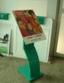 农行温馨提示牌 折弯式温馨提示牌 专业银行标识灯箱定制