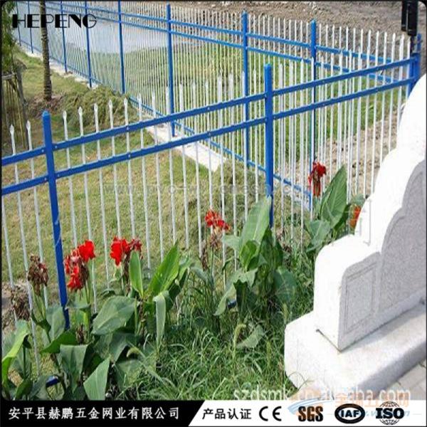 锌钢防护围栏 锌钢隔离栅 小区锌钢防护围栏 锌钢防护