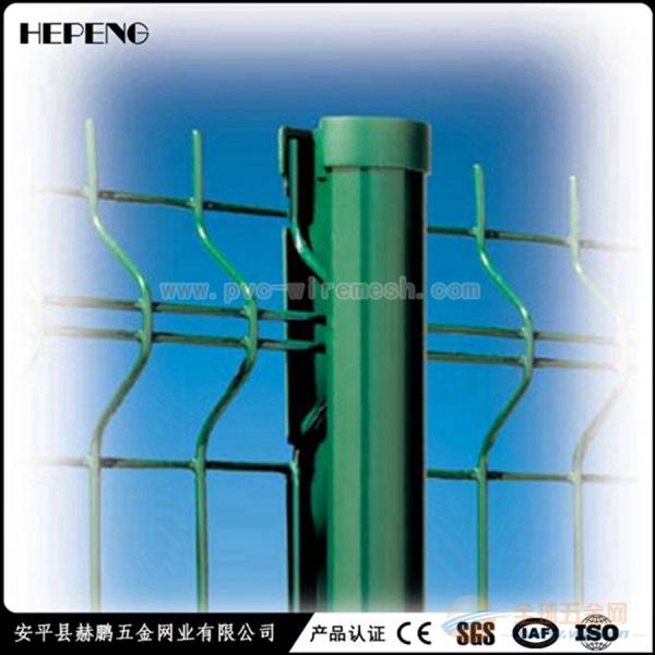 桃型柱三角折弯护栏网 厂家直销 质量有保证