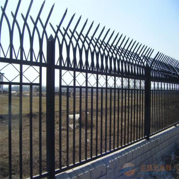 厂家现货供应 锌钢围栏 小区厂区防护围栏网