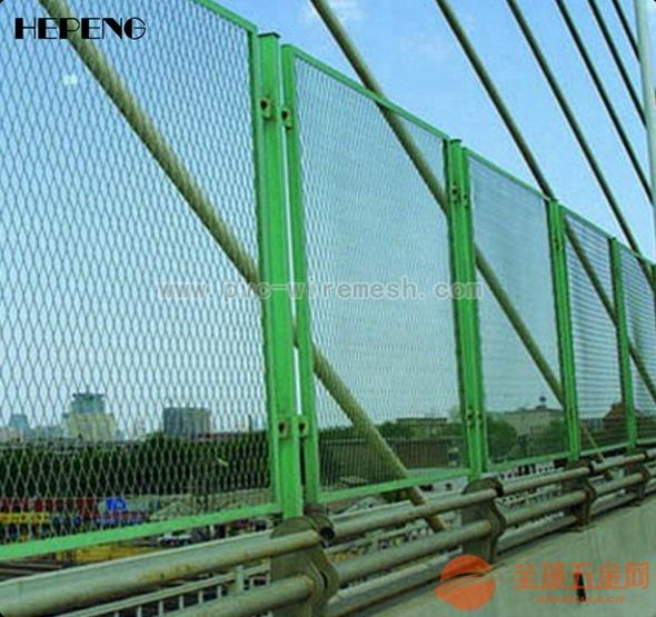 桥梁防抛护栏网 桥梁防护网 防抛网 桥梁安全防护网