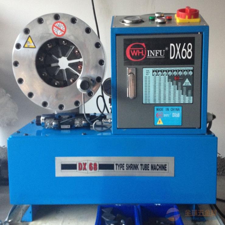 一层至六层钢丝高压油管液压油管扣压机