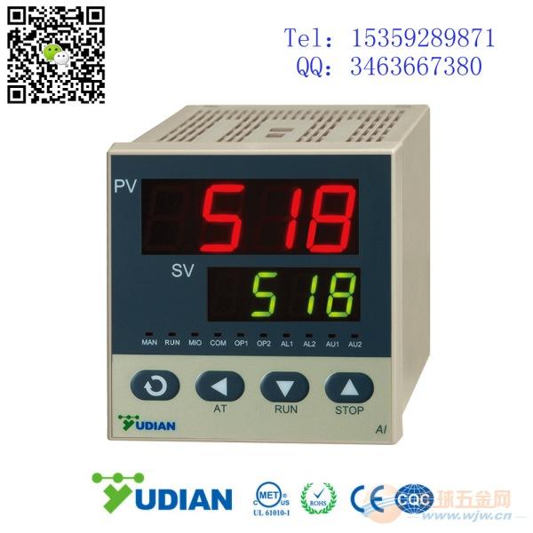 宇电 AI-518AL1L0X3S AI-518PID温控器