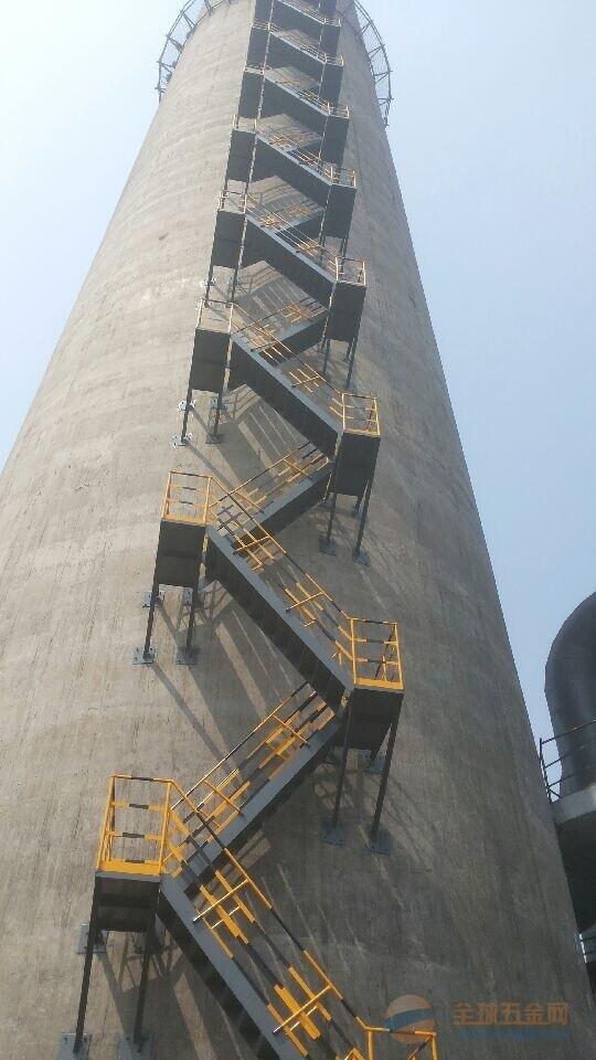上海烟囱旋转梯平台制作安装公司