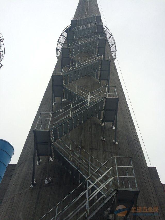 天津烟囱旋转梯平台制作安装公司