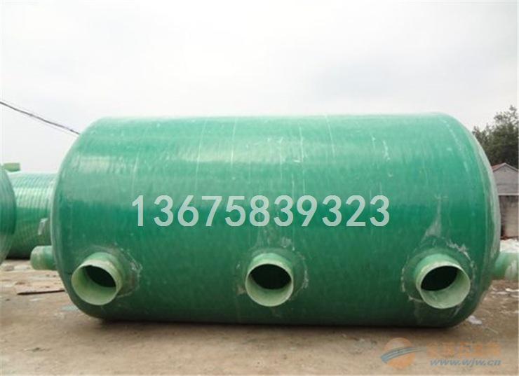 龙川县20立方 7号 玻璃钢化粪池工作原理