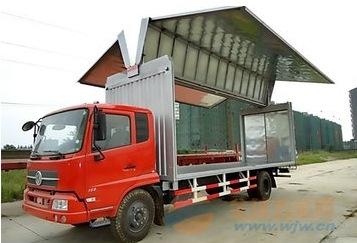 天锦160马力 7.7米飞翼车