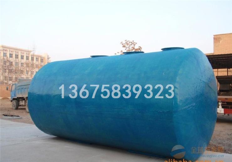 淮南市9立方 4号 玻璃钢化粪池工作原理