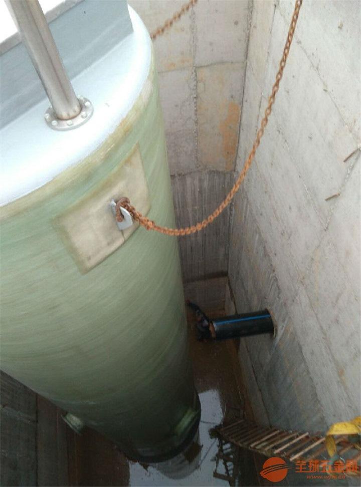 江西省九江市永修县玻璃钢一体化预制泵站生产厂家