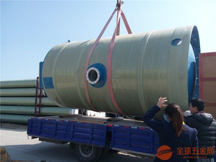 广西壮族自治区南宁市青秀区玻璃钢一体化预制泵站价格