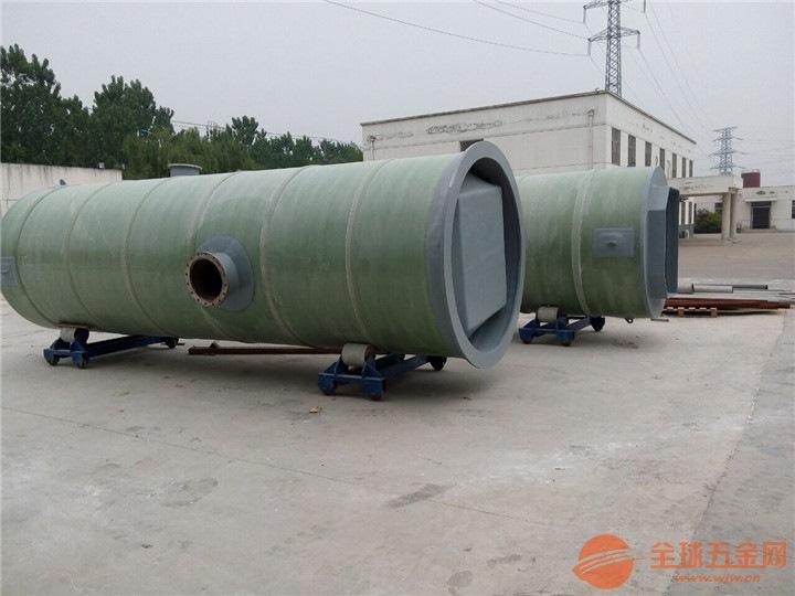 四川省南充市南部县玻璃钢一体化预制泵站生产厂家