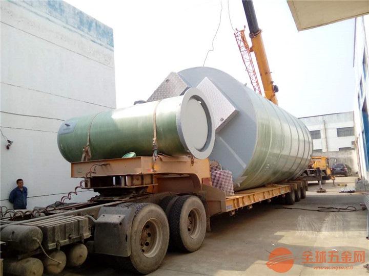 陕西省榆林市靖边县玻璃钢一体化预制泵站厂家