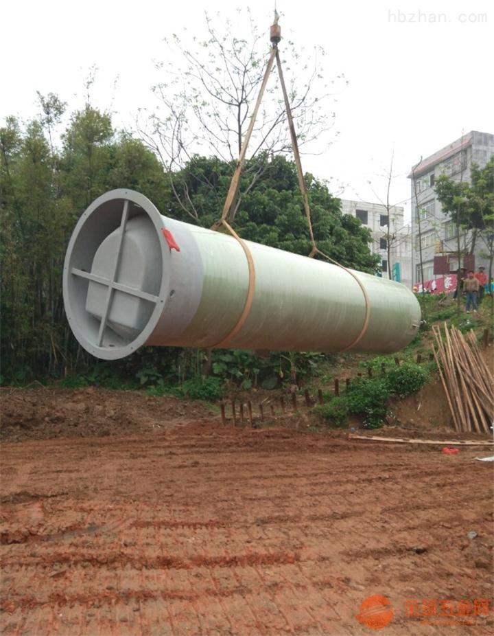 湖南省邵阳市武冈市玻璃钢一体化预制泵站价格