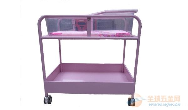 厂家热销钢塑婴儿床 婴儿推车 婴儿护理车 婴儿床