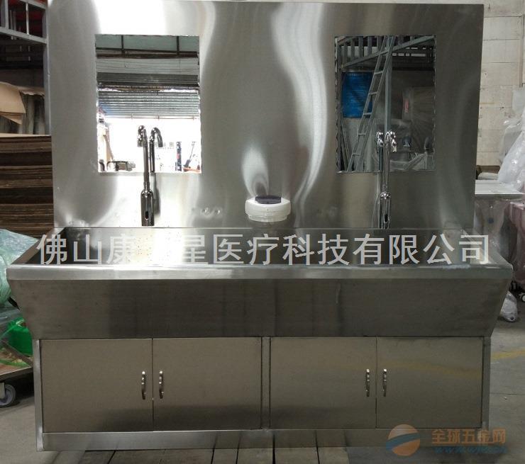 厂家直销豪华不锈钢自动感应洗手槽,豪华型不锈钢洗手槽