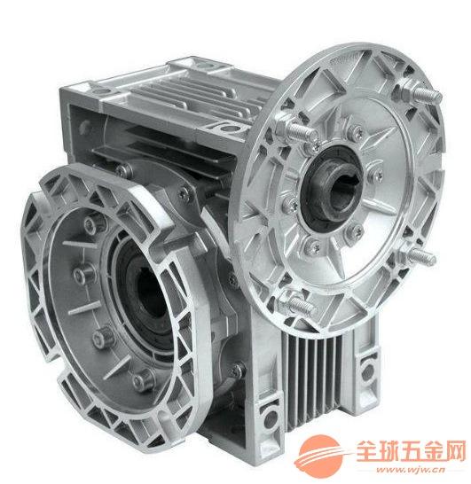 蜗轮减速电机RV075铝合金蜗轮减速机 台湾减速机
