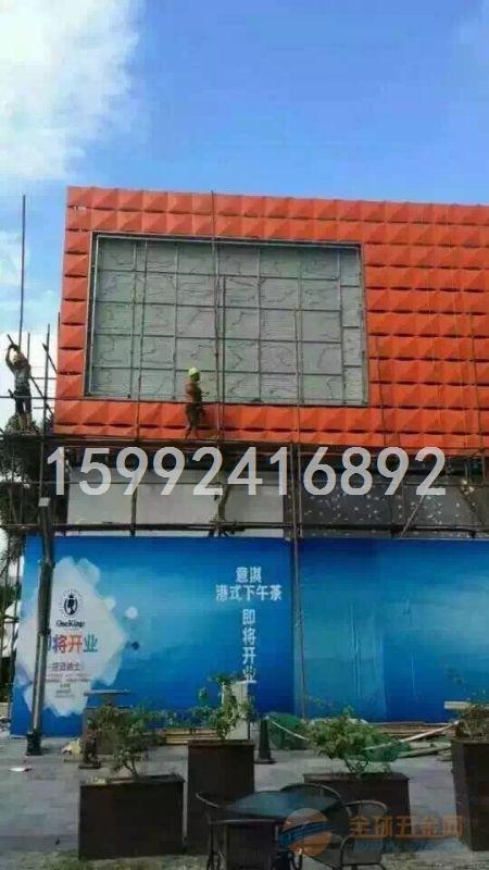 通道铝单板吊顶