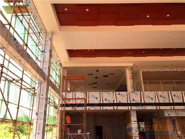 新能源4s店专用吊顶材料铝单板