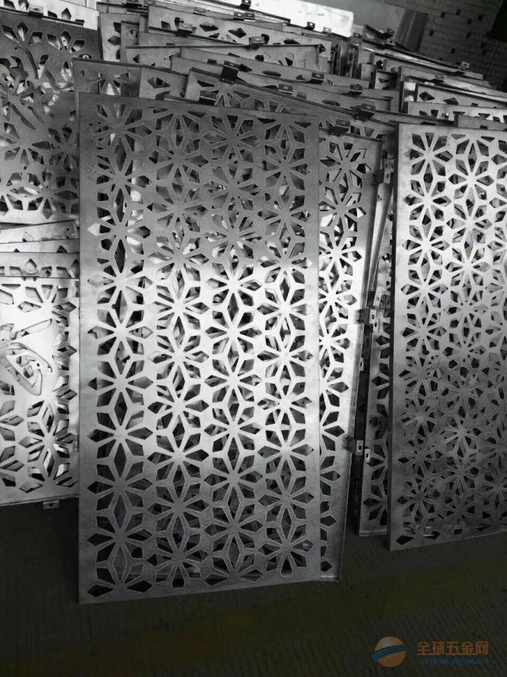 广东厂家直销新颖数控冲孔雕花铝单板